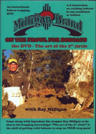 On the Prowl for Bobcats - DVD - by Ray Milligan #00032315